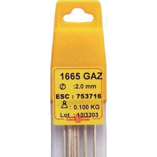 Brasure 1665 GAZ 2001P - alliage 40% argent image