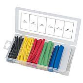 Assortiment de gaines thermo-rétractables 100 pcs image