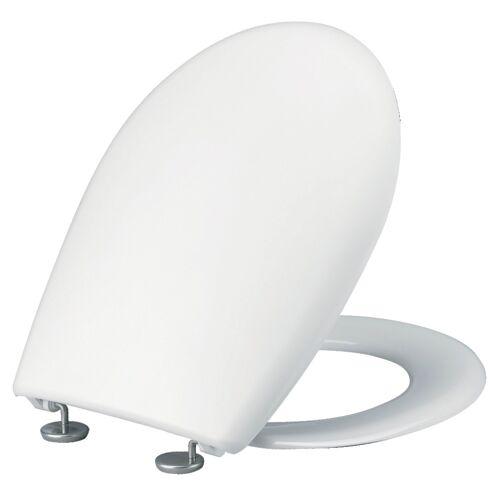 Abattant WC double Opio Blanc - charnière en Inox image