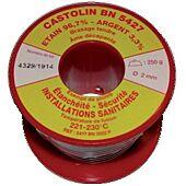Bobine BC5423 - brasage tendre sans plomb alliage étain/cuivre 3% image