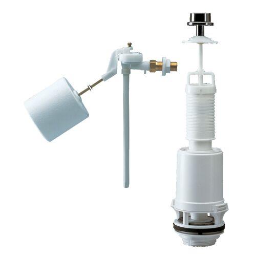 Ensemble complet mécanisme WC et robinet flotteur image