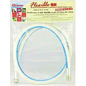 Flexible caoutchouc gaz naturel 15x21 Femelle - Femelle image