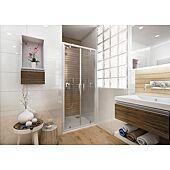 Porte de douche à 2 battants Ancoswing - L800 H1,90m - accès 575mm image