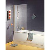 Paroi de baignoire Ancoswing 1 volet - verre sérigraphié - L800 - H 1,40m image