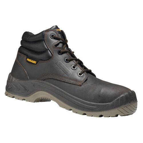 Chaussure de sécurité haute S3 Noumea cuir marron huilé image