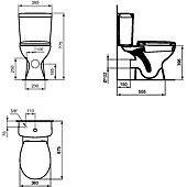 Pack WC Ulysse - sortie horizontale image