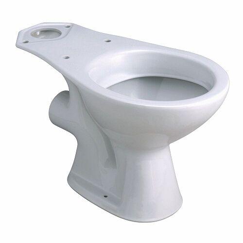 Cuvette WC nue à sortie horizontale Bastia Blanc image