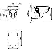 Cuvette WC suspendue Ulysse image