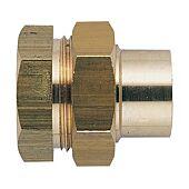Union droit fer cuivre femelle à souder - 340GCU image