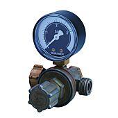 Détendeur réglable propane avec manomètre haute pression image