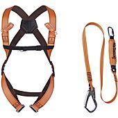 Kit antichute complet : Harnais- longe de 2m - sac image