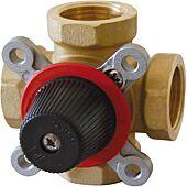Vanne à secteur laiton Thermomix 4V 1 1/4 DN32 image