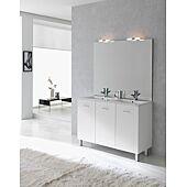 Ensemble meuble sur pied Ancoflash à portes - blanc image