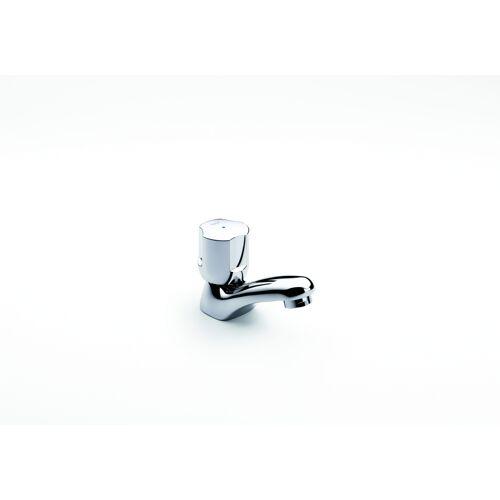 Robinet lave-mains bec fixe - eau froide - Niagara - chrome image