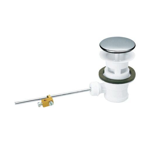 Bonde à clapet lavabo/bidet PVC sans tirette image