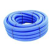 Gaine annelée bleu - conduit isolant TPC - Couronne de 25m image