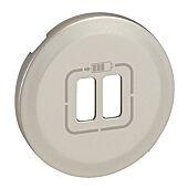 Enjoliveur Céliane - Blanc-Pour Chargeur double USB image