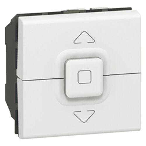 Interrupteur volet roulant Mosaic - Blanc image
