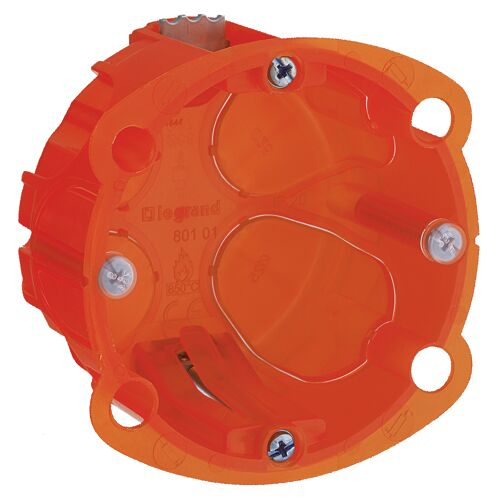 Boîte d'encastrement multimatériaux Batibox 1poste Ø67 image