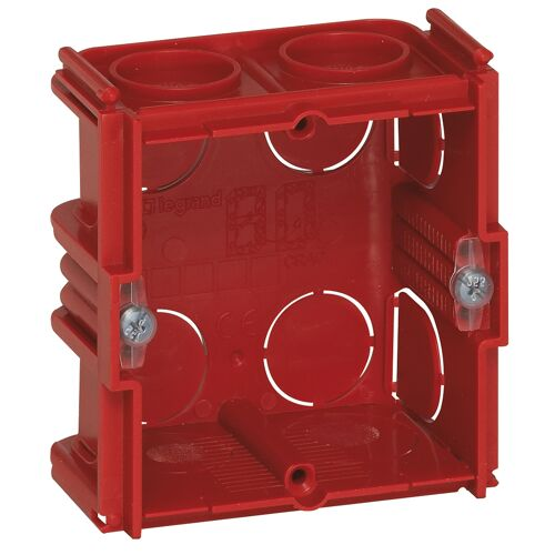 Boîte d'encastrement maçonnerie Batibox carrée 1poste 70x70 image