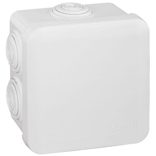 Boite étanche carré 80X80X45 blanche image