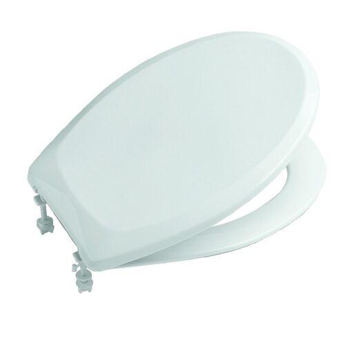 Abattant WC double Victoria - résine thermodur blanc image