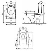 Pack WC Allia Prima 6 Blanc 3 à 6l image