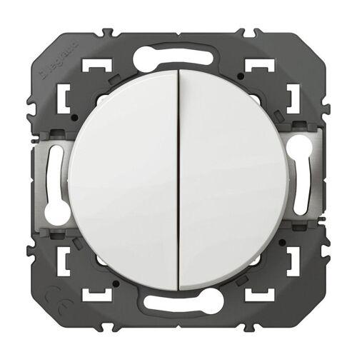Double poussoir simple Dooxie - Blanc image