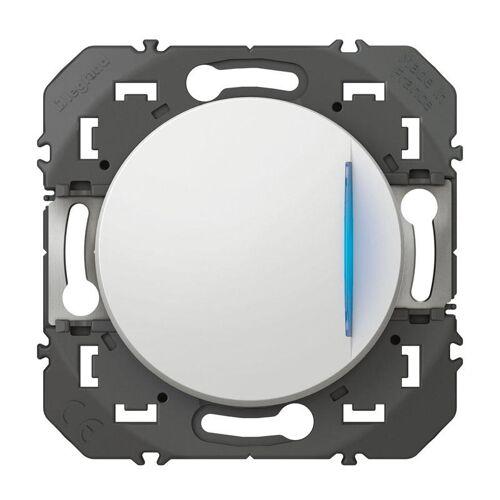 Poussoir simple Dooxie - Blanc - Voyant lumineux image