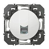 Prise blindée RJ45 catégorie 6 FTP dooxie finition blanc image