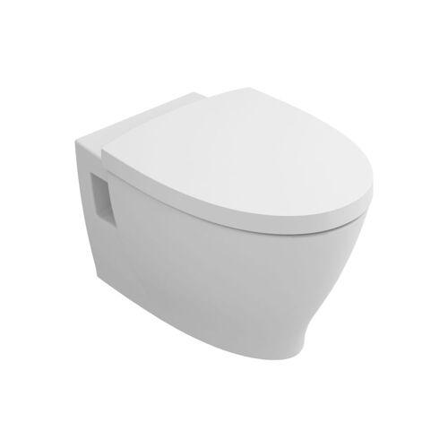 Abattant WC frein de chute blanc - pour cuvette New Anco image