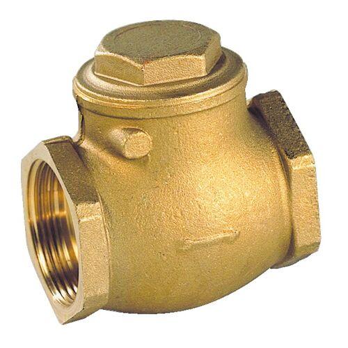 Clapet simple battant laiton portée métal/caoutchouc FF 15x21 image