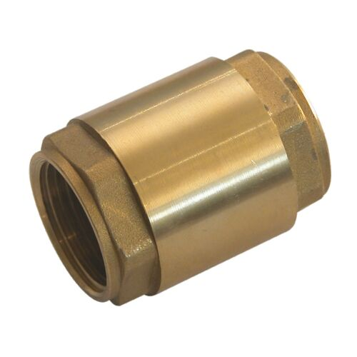 Clapet laiton toutes positions - obturateur nylon - taraudé BSP - PN16 image