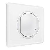 Interrupteur avec option variateur connecté Céliane With Netatmo - Blanc-5W à 300W image