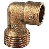 Coude fer cuivre mâle - 92GCU image