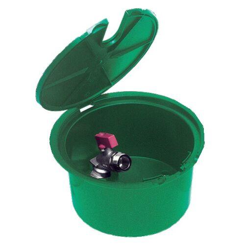 Bouche d'arrosage coffre plastique avec robinet 20x27 image