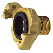 Raccord express laiton 41mm - Joint NBR - Male BSP image