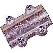 Collier de réparation long pour tube acier image