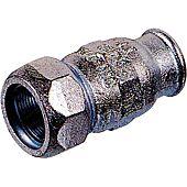 Union égale de réparation pour tube acier - Femelle - Femelle image