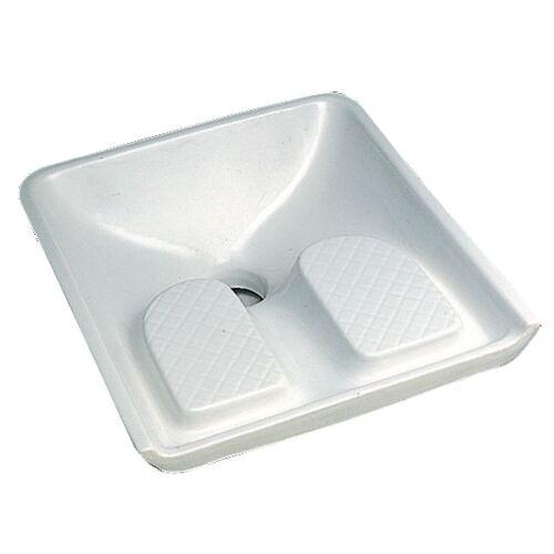 Siège WC à la turque Allia Blanc image