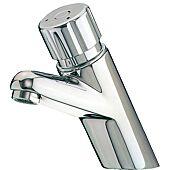 Mitigeur de lavabo temporisé 4000S - Bouton Chrome image