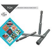 Coffret de 4 forets diamant TCH - Raccord Héxagonal pour visseuse image