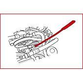 Clé 8 mm pour courroie de distribution de Renault avec embout TORX® T45 image
