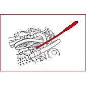 Clé pour courroie de distribution de BMW et Mercedes avec vis TORX® image