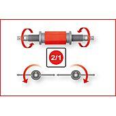 Repousse piston gauche - droite, sans coupelle 150.1967 image