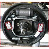 Pince pour clips de fixation de ressort de frein image