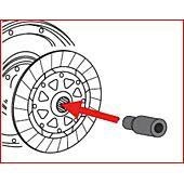 Pige de centrage Ø 26,5 mm - L.80 mm pour embrayage SAC - BMW image
