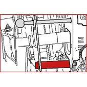 Entretoise pour face avant de véhicule - VAG image