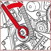 Clé pour galet tendeur 32 mm - VAG image