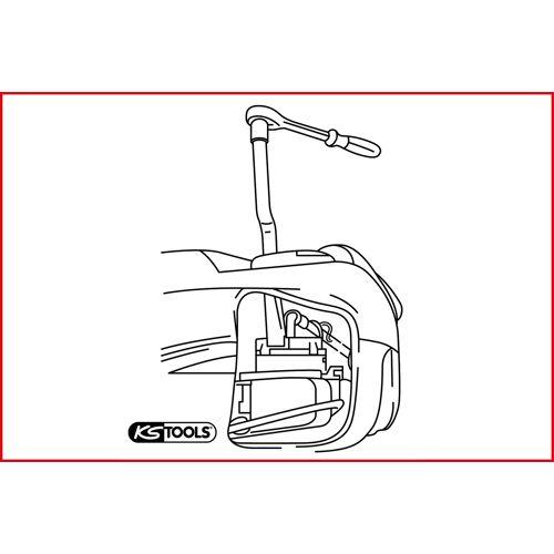 Clé pour pompe à carburant VAG image